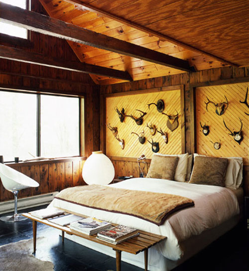 Cabin Bedroom Ideas: Decorating A Cabin « Pearleandpiercehome