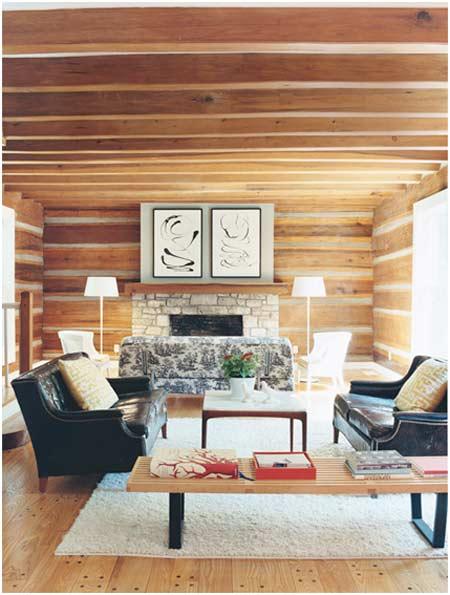 DIY Cabin Design Living Room Download Woodworkerscom