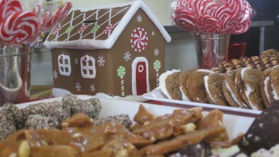 Gingerbread House Food Shop