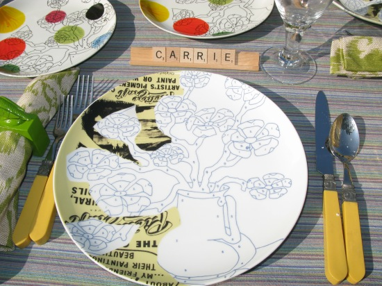 Carrie table scape