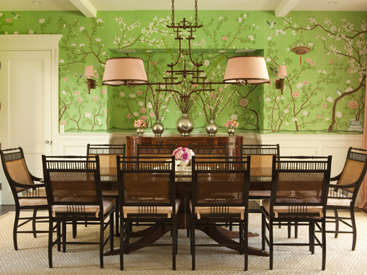 Leanne Thornton Green Dining Room