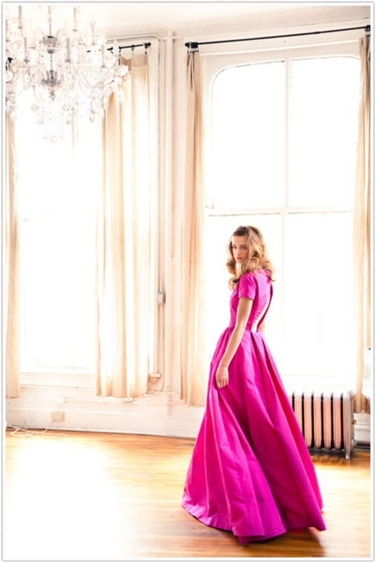 Hot Pink Ballgown
