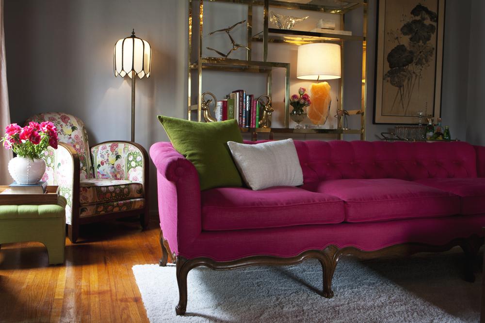 Hot Pink Sofas