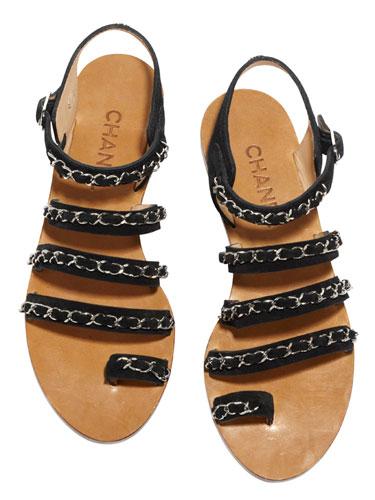 chanel sandals. chanel sandals