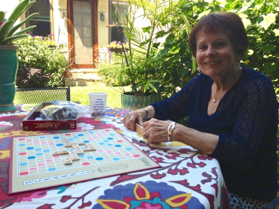 Mom and Scrabble
