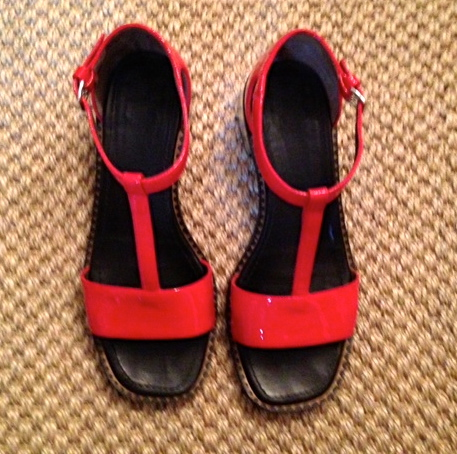 Red Marni Sandal