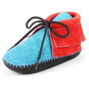 Maquoketa Fringed Children's Moccasin