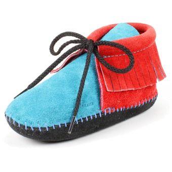 Maquoketa Fringed Children's Moccasin