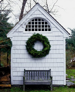 Cottage and Wreath