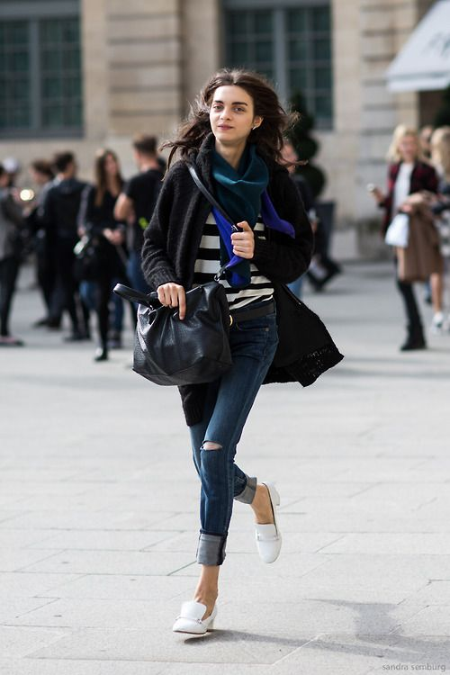 Paris Fashionweek ss2014 day 7, outside Vionnet, Place Vendome, Magda Laguinge