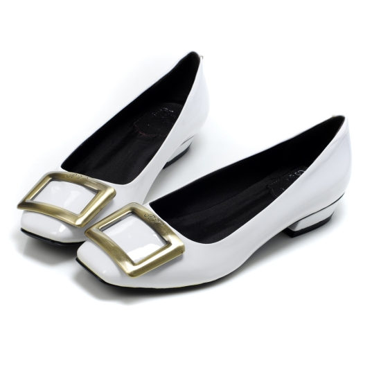 White Roger Vivier Shoes